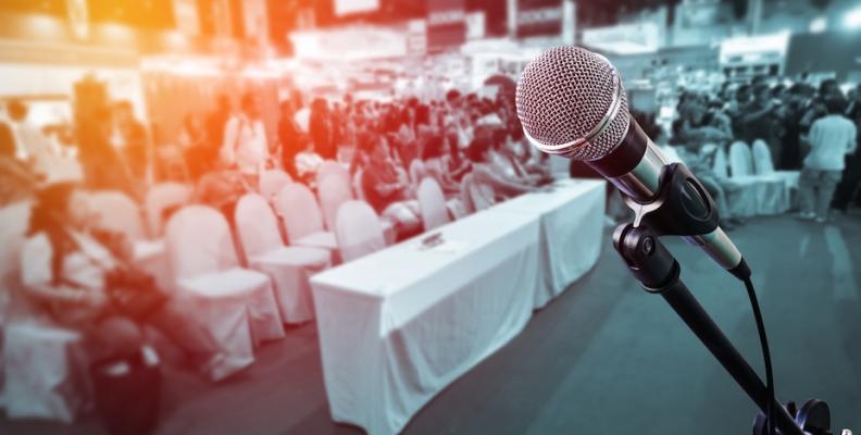 Theatre techniques for public speaking